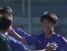全国高校サッカー選手権大会 日本文理大付に2-1勝利で初戦突破!